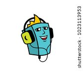 audiobook vector sign | Shutterstock .eps vector #1023113953
