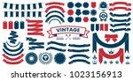 vintage retro vector logo for... | Shutterstock .eps vector #1023156913