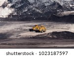 mining equipment or mining... | Shutterstock . vector #1023187597