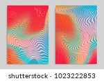 abstract cover template with... | Shutterstock .eps vector #1023222853