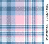 plaid check pattern in shades... | Shutterstock .eps vector #1023245587