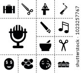 clipart icons set of 13