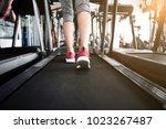 close up image of running sport ...   Shutterstock . vector #1023267487