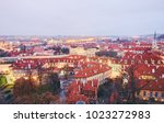 travel and architecture.... | Shutterstock . vector #1023272983
