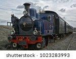 train called museumstoomtram... | Shutterstock . vector #1023283993