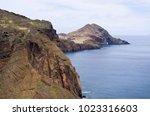 ponta de sao lourenco peninsula ... | Shutterstock . vector #1023316603