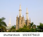 Small photo of View of Jakarta Cathedral