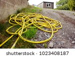 the water hose  | Shutterstock . vector #1023408187