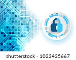 protection concept. protect... | Shutterstock .eps vector #1023435667