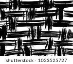 brush stroke pattern.... | Shutterstock .eps vector #1023525727