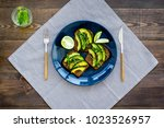 idea for a healthy and... | Shutterstock . vector #1023526957