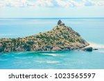 beautiful summer sea landscape...   Shutterstock . vector #1023565597
