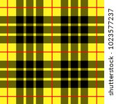 scottish cage  yellow celtic.... | Shutterstock .eps vector #1023577237