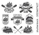 labels for sport club of... | Shutterstock .eps vector #1023607627