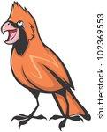 Creative Cardinal Bird...