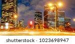 tel aviv  israel   december ... | Shutterstock . vector #1023698947