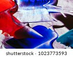 painted abstract background | Shutterstock . vector #1023773593