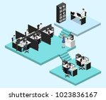 isometric vector illustration... | Shutterstock .eps vector #1023836167