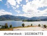 view of beris lake in kedah ... | Shutterstock . vector #1023836773