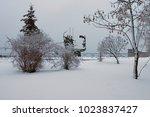 Winter Landscape Photo. Mornin...