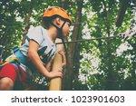 children's active recreation | Shutterstock . vector #1023901603