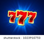 big win slots 777 banner casino ... | Shutterstock .eps vector #1023910753