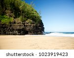 kauai  hawaii   november 2016 ... | Shutterstock . vector #1023919423