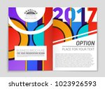 abstract vector layout... | Shutterstock .eps vector #1023926593