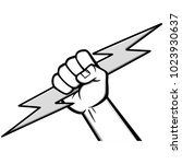 electrician icon illustration   ... | Shutterstock .eps vector #1023930637
