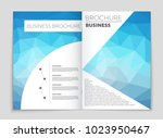 abstract vector layout... | Shutterstock .eps vector #1023950467