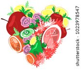 excellant illustration with... | Shutterstock .eps vector #1023978547