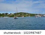 saint paul parish   antigua and ... | Shutterstock . vector #1023987487