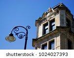 detail from victorian tenement... | Shutterstock . vector #1024027393