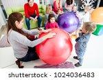 mothers and children | Shutterstock . vector #1024036483