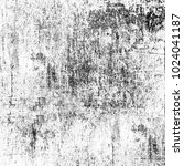 grunge texture black and white. ... | Shutterstock . vector #1024041187