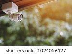 close up cctv  concept install... | Shutterstock . vector #1024056127