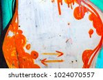 creative background of rusty...   Shutterstock . vector #1024070557
