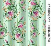 wildflower ornament flower...   Shutterstock . vector #1024088923