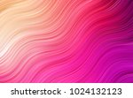 light pink  yellow vector... | Shutterstock .eps vector #1024132123