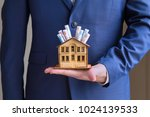 real estate and mortgage... | Shutterstock . vector #1024139533