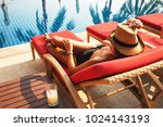 summer lifestyle fashion... | Shutterstock . vector #1024143193