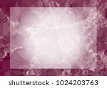 mosaic triangular horizontal ... | Shutterstock .eps vector #1024203763