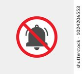 prohibiting vector sign.... | Shutterstock .eps vector #1024206553