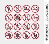 prohibiting vector signs....