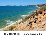view over rainbow beach from... | Shutterstock . vector #1024213363