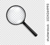 photo realistic vector 3d black ... | Shutterstock .eps vector #1024264993