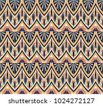 geometric folklore ornament.... | Shutterstock .eps vector #1024272127