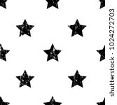 grunge stars seamless pattern.... | Shutterstock .eps vector #1024272703