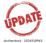 update stamp new information... | Shutterstock . vector #1024318963