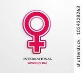 international women's day... | Shutterstock .eps vector #1024328263